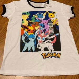 Pokémon Eeveelutions T-Shirt new with tags (M)